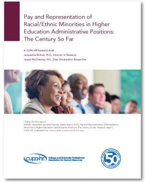 Minorities Are Paid Equitably, But Are Underrepresented in Higher Ed Leadership
